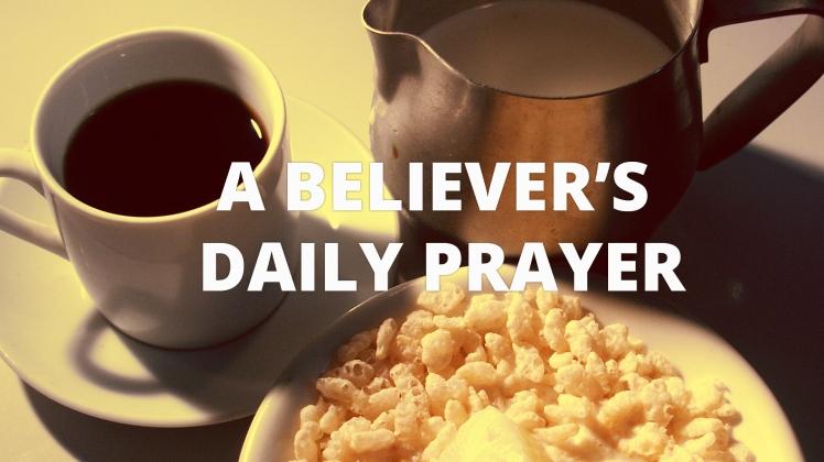 a believers prayer